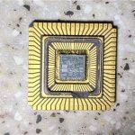286 CPU chip die shot