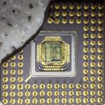 80386DX-33 CPU die