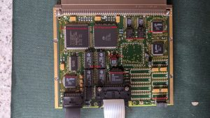 Keyboard and display controller PCB